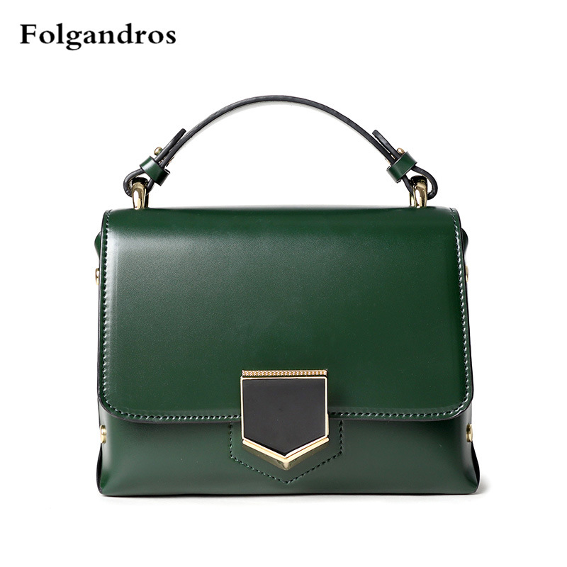 2018 Genuine Leather Totes Female Shoulder Crossbody Bags for Women Leather Handbag Ladies Messenger Bag Medium Designer Handbag crossbody bag handbag 2018 new brand designer messenger bags genuine leather women s female fashion woman chains bag shoulder