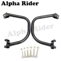 Side Bumpers Front Buffer Crash Bars Knees Legs Protector Engine Guards L/R for Harley Street 500 XG500 750 XG750 2015 2016 2017