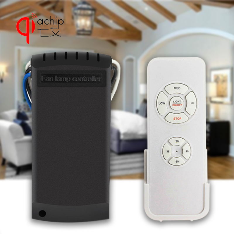 Universal Ceiling Fan Light Lamp Timing Speed Controller