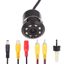 CCD Автомобильная Камера Заднего вида Анти туман с RCA разъем Автомобиля парковочная камера 170 градусов широкий угол обзора автомобиля укладки