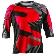 Для мужчин футболки одежда мотоциклетные MX горный велосипед RF BMX DH MTB Мотокросс Джерси футболка с длинными рукавами дышащая быстросохнущая