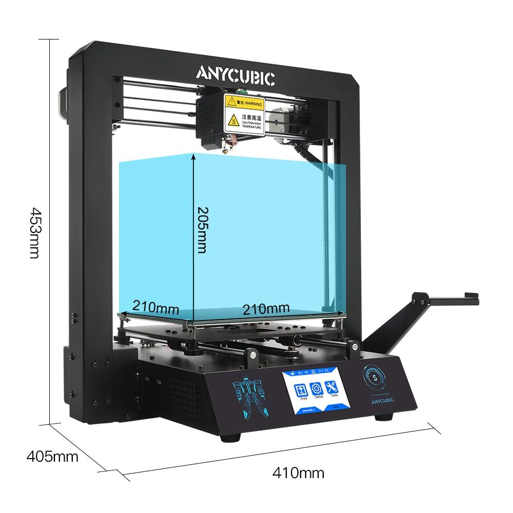 Image 4 - ANYCUBIC i3 Mega S 3D Printer Kit Upgrade i3 Mega Huge Build Volume Rack Rigid Metal Frame FDM 3d Printer impresora 3d Drucker3D Printers   -