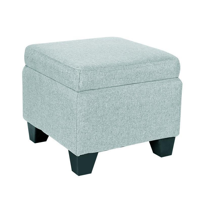 B Change Shoes Stool Fabric Creative Solid Wood Storage Stool Living Room Coffee Table Foot Storage Stool