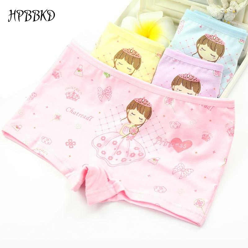 HPBBKD Girl's Underwear Children kids Panties Girls' Briefs Female Child Underwear Baby Girl Panty Boxer For 2-10 Years GU188