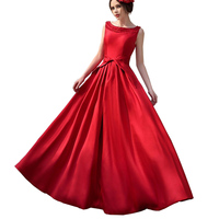 YJSFG HOUSE High Waist Women Formal Dress Belted Hollow Evening Formal Party Elegant Dress Gown Prom
