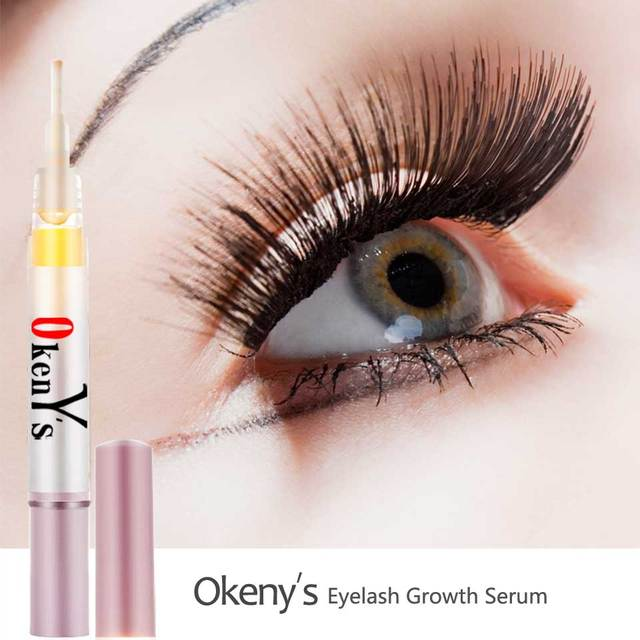 815323fceb2 Okeny's Eyelash Growth Eye Serum 7 Day Eyelash Enhancer Longer Fuller  Thicker Lashes Eyelashes and Eyebrows