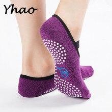 Yhao Brand High Quality Yoga Socks Anti-slip Sports For Women Seamless Toe Bandage Ballet Fitness