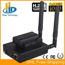 Envío Libre de DHL MPEG-4 H.264 HD Wireless WiFi HDMI Codificador Para IPTV, Broadcast Live Stream, RTMP HDMI de Grabación de Vídeo Del Servidor