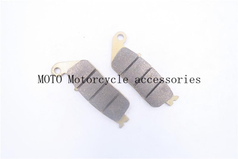 Sintered Motorcycle Brake Pads For HONDA CBR 250 RB/RC (Non ABS) 11 12 2013 CBR 250 RJ/RK/RK2 (MC19) 88-89 CBR 1000 FK/FL/FM/FN 2 pairs motorcycle brake pads for honda cbr250 cbr 250 rj rk rk2 mc19 1988 1989 black brake disc pad