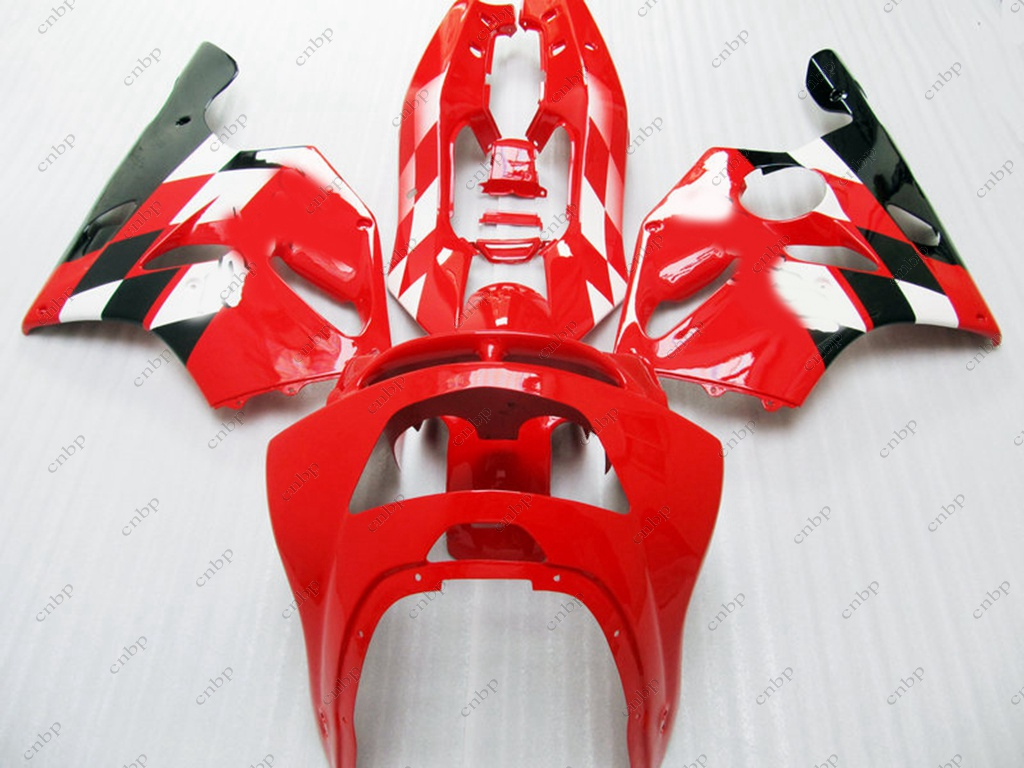 Full Body Kits 636 Zx-6r 96 97 Full Body Kits Ninja Zx-6r 1995 1994 - 1997 Red Black Fairing for Kawasaki Zx6r 1995