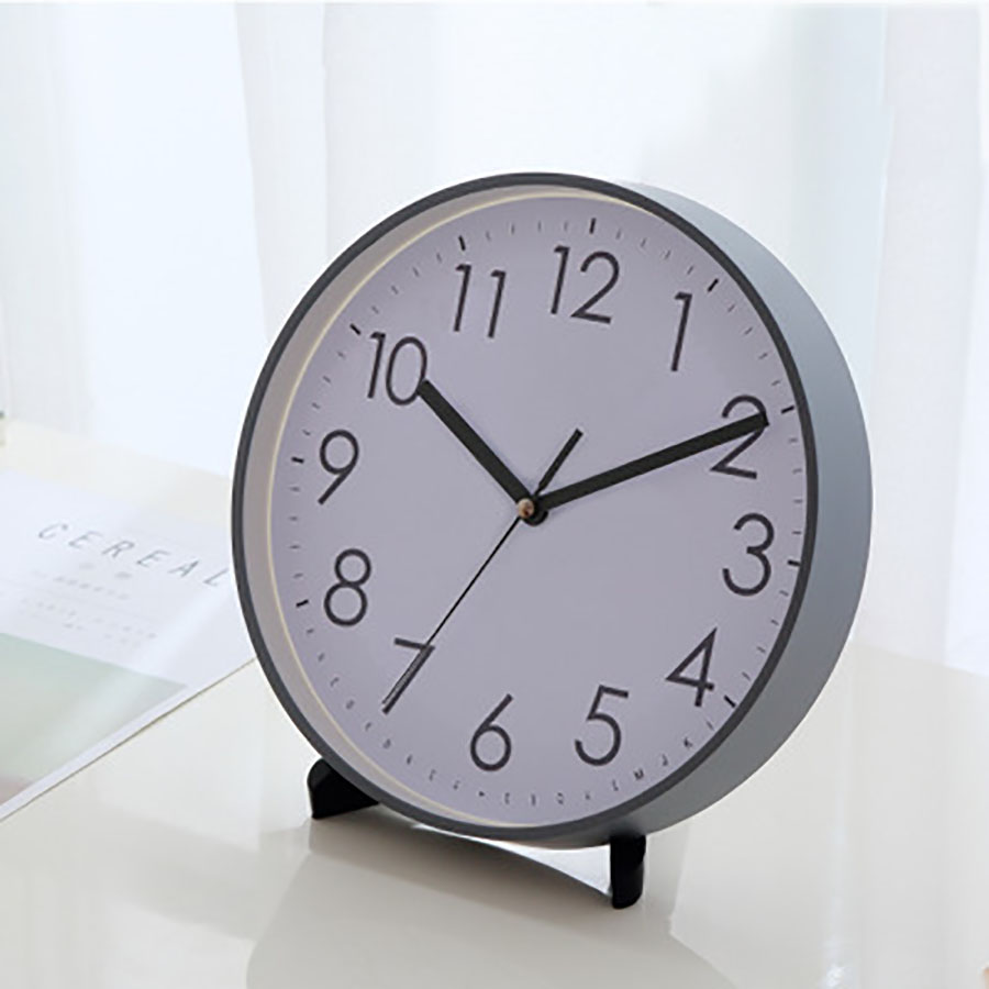 Table Clock Desktop Vintage Pendulum Clock Electronic Desk Clock Peque Digital Desk Clocks Office Decoration Desk WZH008