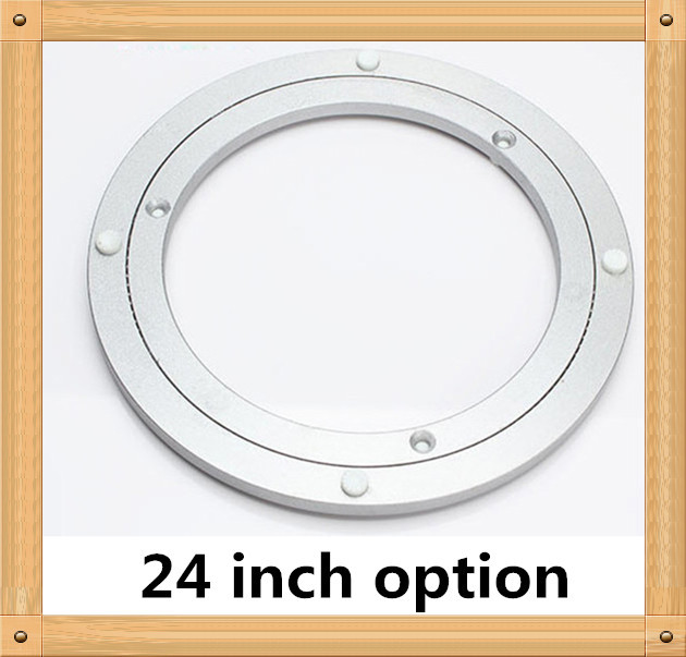 Superieur Aliexpress.com : Buy 1 Piece 24 Inches 58cm Big Aluminium Alloy Swivel  Plate For Kitchen Furniture Lazy Susan Turntable Dining Table From Reliable  Furniture ...