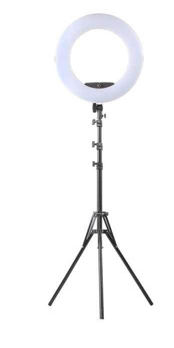 Yidoblo FE-480II Bio-Anello di colore Della Lampada 480 HA CONDOTTO LA Lampada Fotografia salone di Bellezza del chiodo di Trucco di selfie di Illuminazione + basamento + bag + batteria