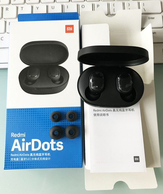 Xiaomi Mi AirDots / Redmi AirDots TWS Bluetooth Earphone Youth Version stereo bluetooth 5.0 Headphone Earbuds Handsfree with mic