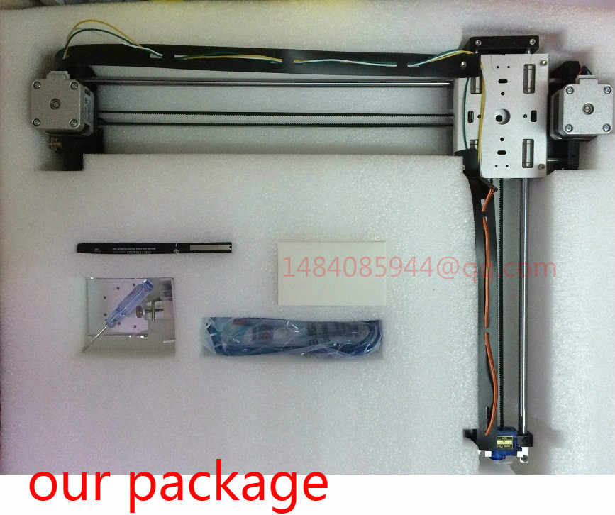 DIY Smart Writing Drawing Robot Mini XY 2 Axis CNC Pen Plotter Machine  Advanced Toy Stepper Motor Drive 32X22cm Stroke