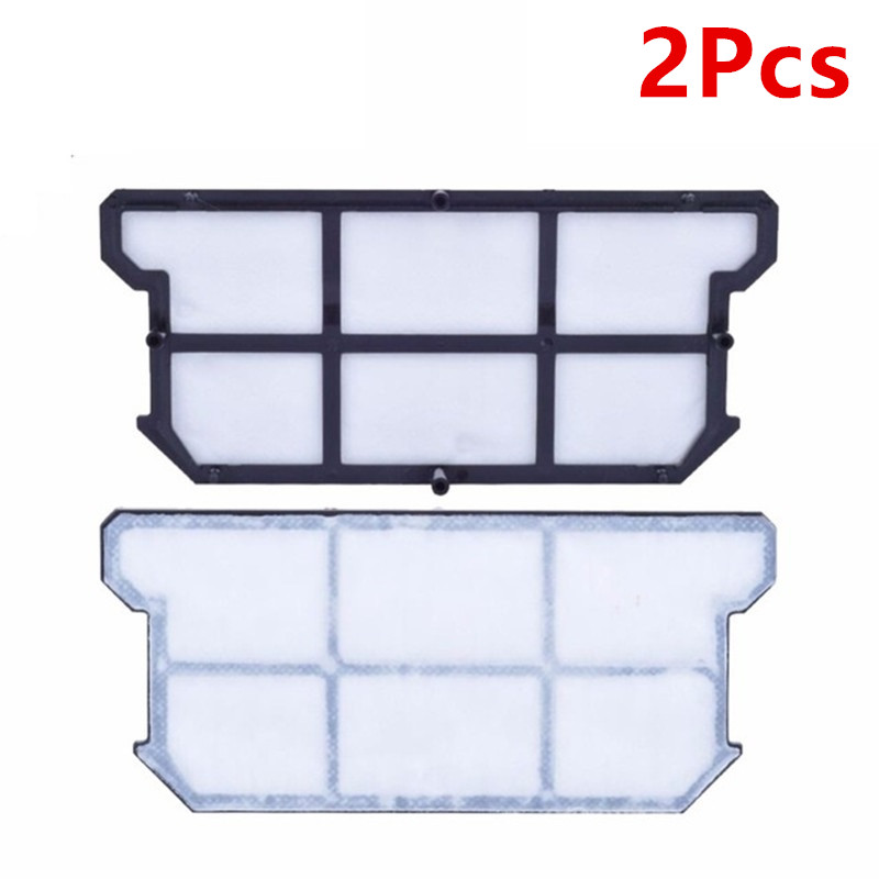2Pcs Original Efficient dust HEPA Filter for ILIFE V7s Plus Robot Vacuum Cleaner parts accessories filters 6pcs preformance robot parts dust hepa filter