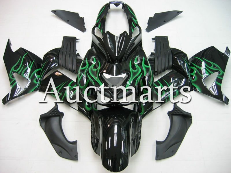 Fit for kawasaki  ZX-14R ZZR1400 2006-2011 Injection ABS Plastic motorcycle Fairing Kit Bodywork ZX14R 06-11  CB02