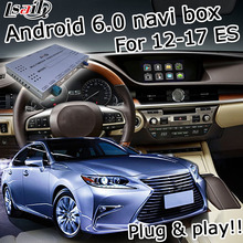 Android 6.zero GPS navigation field for Lexus ES 2012-2017 and many others video interface with GVIF LVDS solid display screen ES200 ES 250 ES300h ES350