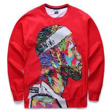 [Andy] Men's 3d sweatshirts print 3d star Jordan casual lovely hoodies long sleeve autumn tops pullovers