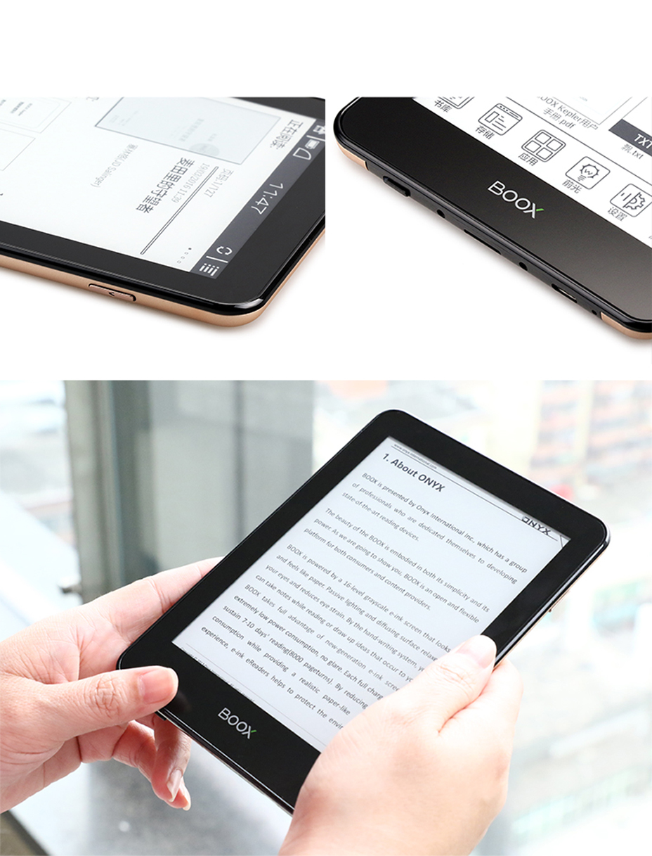 16gb Ereader Bluetooth&wifi Touch E Ink Screen Android Freeshipping From