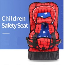 Portable Baby Safety Seat Captain America Spiderman increased pad Infant Safe Seat Thickening Sponge Kids child car seat cushion все цены