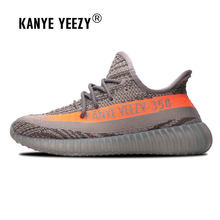 ff8d07cc2 Kanye Yeezy men women sneakers outdoor autumn running shoes boys girls  Ultra-light sports shoes 350 boots Trainer size 36-44. US  44.01   Pair Free  Shipping
