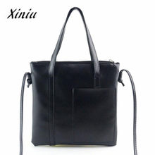 Xiniu Bags Women Tote Ladies Shoulder Large Shopping Bags Women Small Top-Handle 2017 Fashion Women Messenger Bag BaoBao 2018#YW(China)