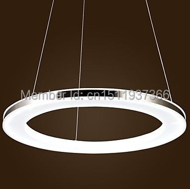 LED Ring Acrylic Pendant LAMP,1 light, Modern Chic Stainless Steel Plating 110-240v robotdigg bulldog extruder