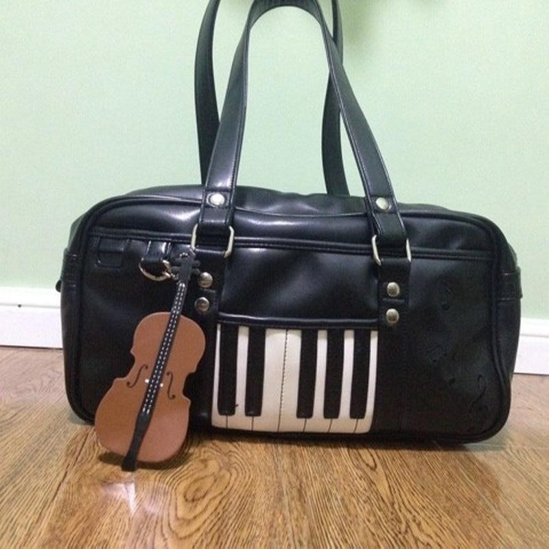 música de piano bolsa de Feature : Uniform Bag, Music Bag, Piano Handbag, Guitar Handbag, Violin Bag,