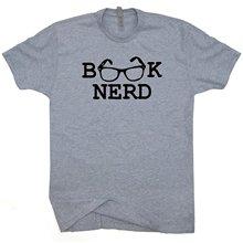 Book Nerd men's t-shirt