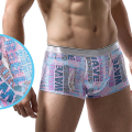 Men's Seamless Thin Ice Silk Nylon Soft Silk Slip Designer Mens Underwear Middle-rise Bulge Pouch Jockstrap Gay Bikini Boxers