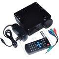 GP7S Mini LED Projetor Portátil 480X320 P Com HDMI VGA Projetor Frete Grátis 12001804