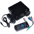 GP7S Mini Portable LED Projector 480X320P With HDMI VGA Projector Free Shipping 12001804