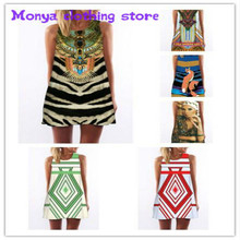 (S-XL)Monya High quality2016 new summer printed European and American women's dress Clothes For Pregnant Women Maternity Dresses