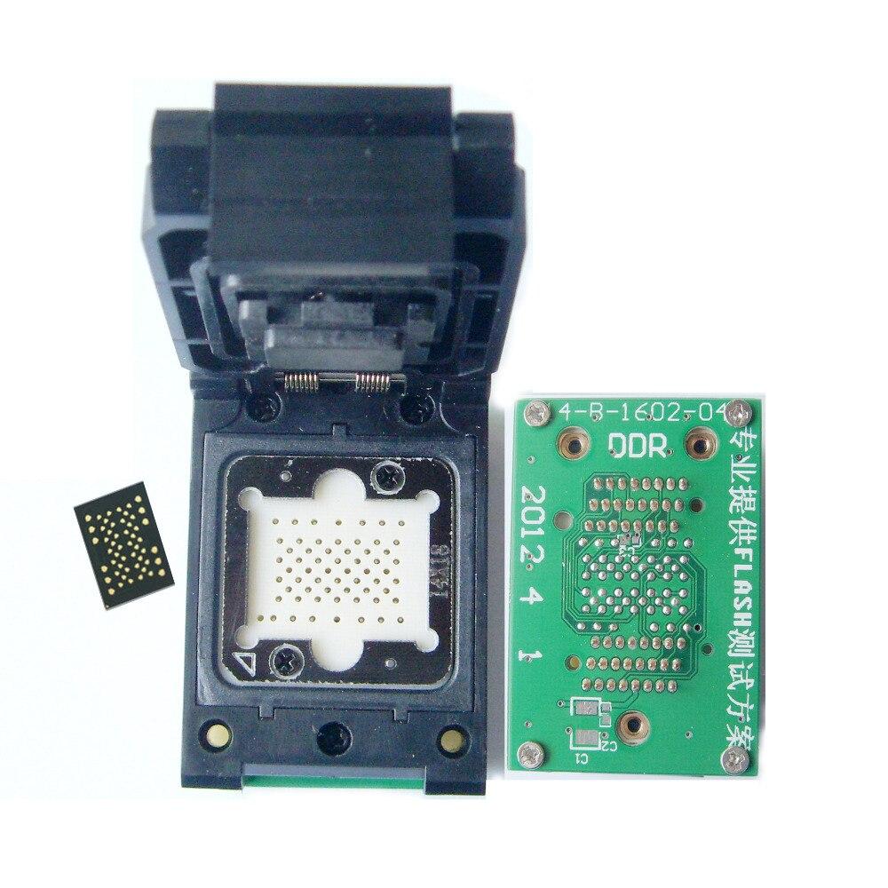 LGA 52 To TSOP48 adapter LGA52 probe pin turn TSOP48 scoket NAND flash Sedum Apple 4 hard seat FOR sizes 12 * 17mm,14 * 18mm LGA 52 To TSOP48 adapter LGA52 probe pin turn TSOP48 scoket NAND flash Sedum Apple 4 hard seat FOR sizes 12 * 17mm,14 * 18mm