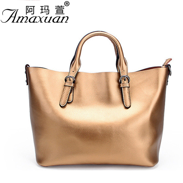 2017 new Genuine leather handbag fashionable adjustable handbag large capacity women messenger shoulder bag BBH1165