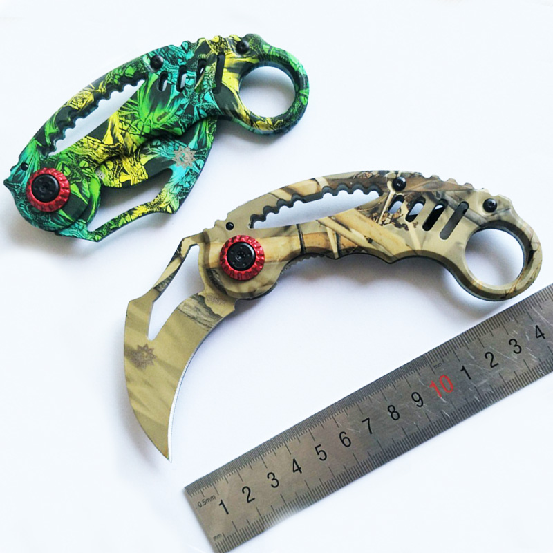 Outdoor <font><b>Csgo</b></font> Camping Tool Multi Functional knife hunting Fighting blade <font><b>karambit</b></font> and tactical survival stainless steel knife image