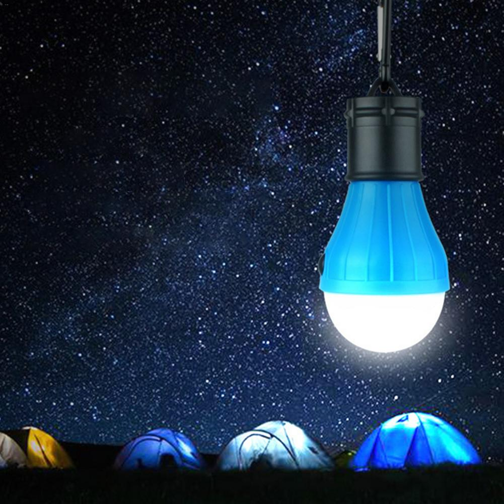 Portable Outdoor Camping Tent Hanging Adventure Lanters Lamp Portable LED Light Hunting Fishing Garden Lamp Bulb Drop Shipping