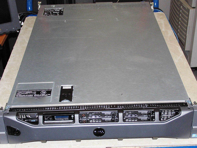 PowerEdge R810 Server Barebone Platform Internet Cafe Diskless Virtual Machine Network Storage
