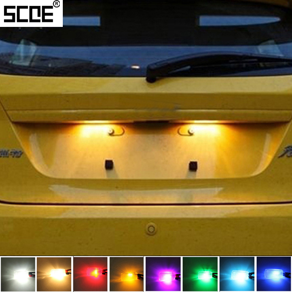 For Ford Street Ka Tourneo Connect Transit Connect Transit Iiscoe Xsmd Led License Plate Light Bulb