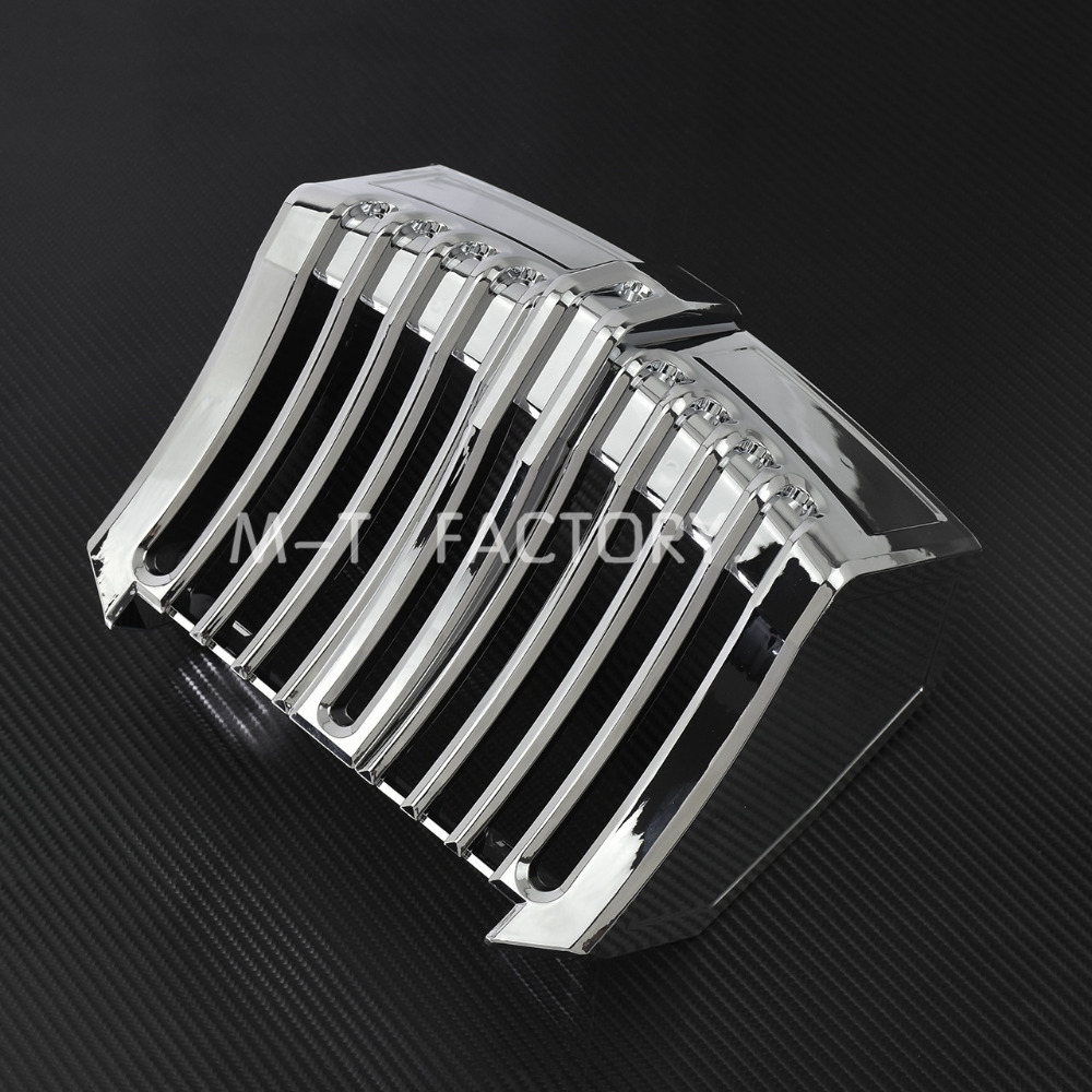 Chrome Oil Cooler Cover Trim Accent For Harley Touring Bagger 17 18