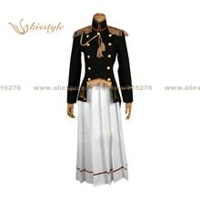 Kisstyle moda hetalia: axis powers japón/honda kiku reversión femenina uniforme ropa cosplay, modificado para requisitos particulares aceptado