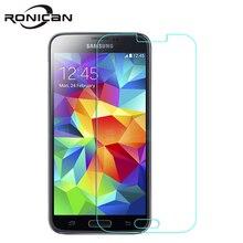 """2.5D HD Temepered Glas Für Samsung Galaxy S5 mini G800f G800h 4,5 """"Anti Shock Gehärtetem Glas schirm schutz schützender film"""