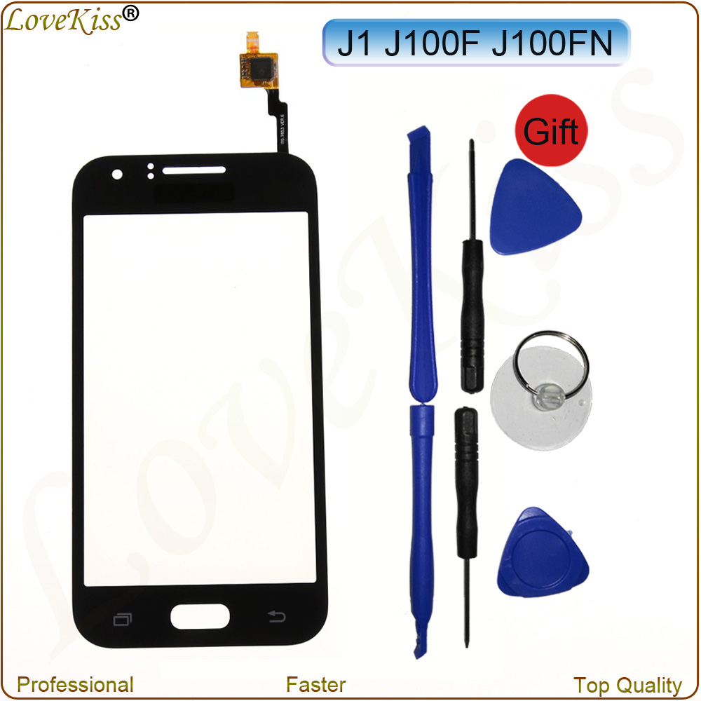 Touch Screen Sensor Digitizer For Samsung Galaxy J1 2015 J100 J100FN J100H J100F Front Panel LCD Display Outer Glass Lens Cover