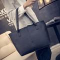 2017 women's mangoes handbag patchwork all-match bags large capacity tote bag female handbag LY1826