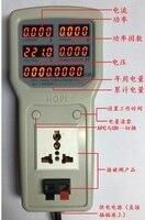 2400W 100V 240V 10A Electric Power Energy Monitor Tester Socket Watt Meter Analyzer with UK/US/EU Socket Output HP8