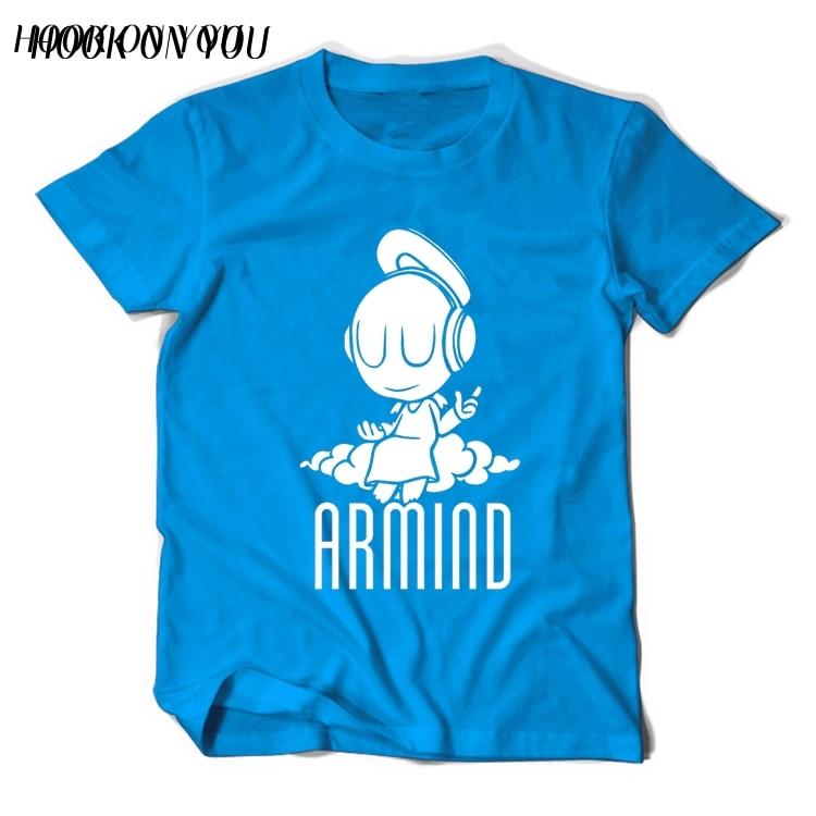 2017 Musikstjärnor DJ Armin Van Buuren T-shirt liten ängel Armind 2 - Herrkläder - Foto 5