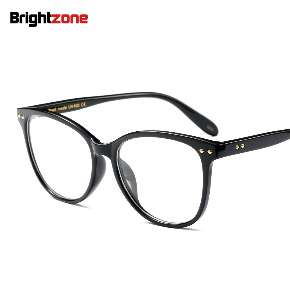 82dacd419b2 Detail Feedback Questions about Brightzone Vintage   Retro Korean Style  European Big Size Man And Woman Round Face Myopia Rx Plain Glasses Frame  Eyeglasses ...