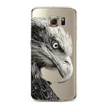Cute Cat Owl Phone Case Samsung S4 S5 S6 S6 Edge S7 S7 Edge