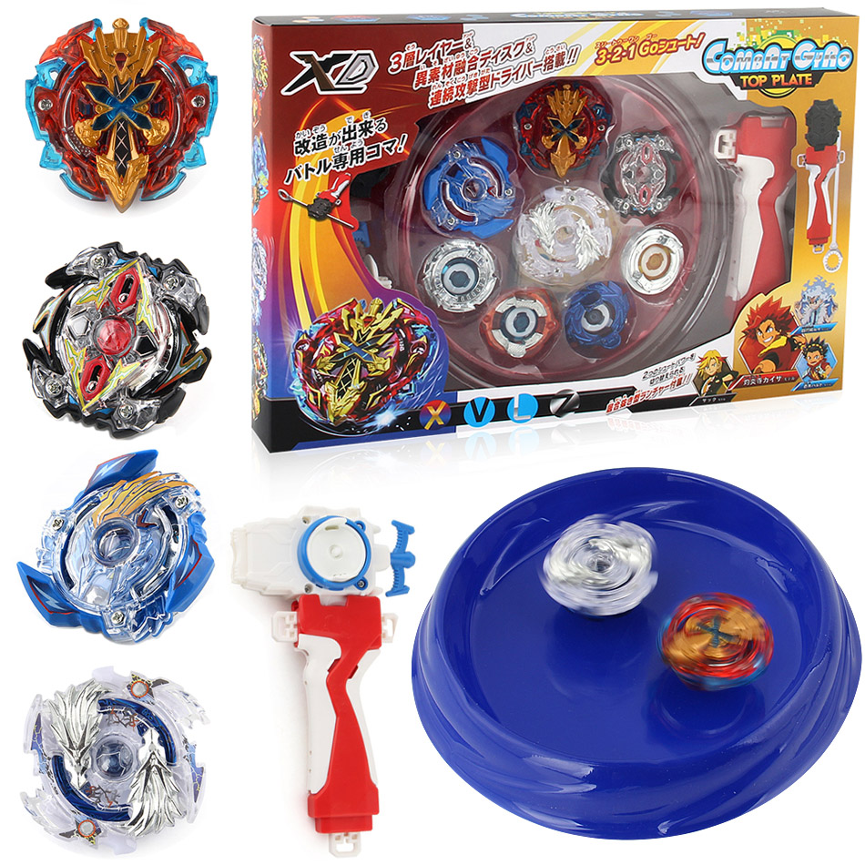 New Free Shipping 4pcs/ set beyblade Arena Spinning Top Metal Fight Byblade Metal Fusion Children Gifts Classic Toy